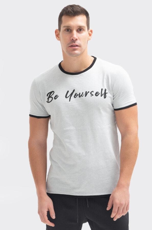 """ΜΠΛΟΥΖΑ ΦΛΑΜΑ """"BE YOURSELF"""